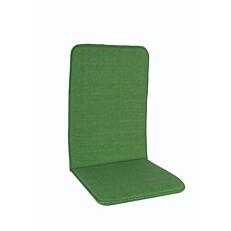 Μαξιλάρι πολυθρόνας με ψηλή πλάτη πράσινο (2τεμ.)