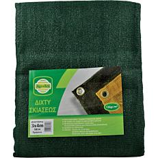 Δίχτυ σκίασης πράσινο 135GR/M2 (3x4m)