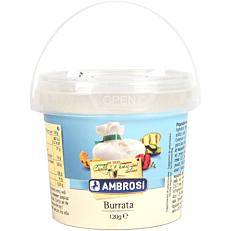 Τυρί AMBROSI mozzarella burrata (120g)