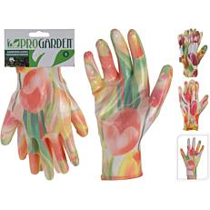 Γάντια κήπου χρωματιστά με σχέδια