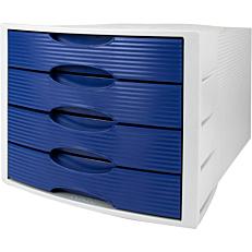 Συρταριέρα HAN 4 θέσεων μπλε