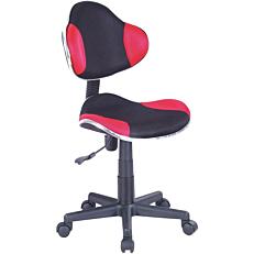 Καρέκλα γραφείου μαύρη/κόκκινη