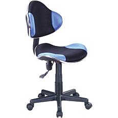 Καρέκλα γραφείου μαύρη/μπλε