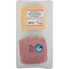 Πάριζα και τυρί edam ΤΥΠΟΠΟΙΗΤΙΚΗ σε φέτες (320g)