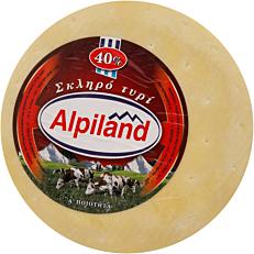 Τυρί ALPILAND σκληρό 40% λιπαρά Αυστρίας (~8kg)