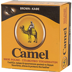 Βερνίκι παπουτσιών CAMEL πάστα καφέ (40ml)