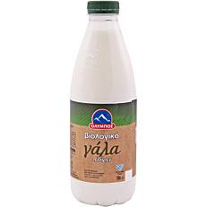 Γάλα ΟΛΥΜΠΟΣ 3,7% λιπαρά βιολογικό (bio) (1lt)