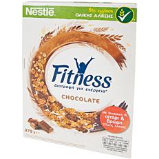 Δημητριακά NESTLE Fitness με σοκολάτα γάλακτος (375g)