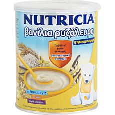 Παιδική κρέμα NUTRICIA βανίλια με ρυζάλευρο (300g)