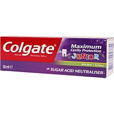 Οδοντόκρεμα COLGATE maximum cavity protection junior +6 ετών (50ml)