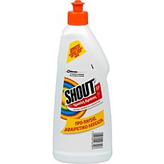 Καθαριστικό SHOUT πρό-πλυσης αφαίρεσης λεκέδων τριπλή δράση (500ml)