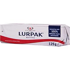 Βούτυρο LURPAK ανάλατο (125g)