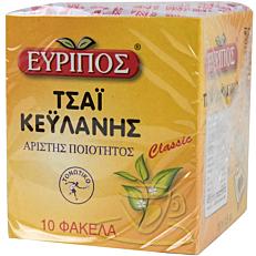 Τσάι EVRIPOS τσάι Κεϋλάνης (10x1,5g)