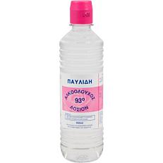 Αλκοολούχος λοσιόν ΠΑΥΛΙΔΗ 93% vol. (450ml)