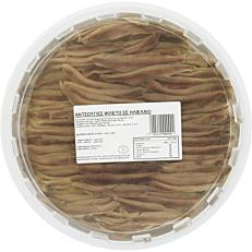 Αντζούγια φιλέτο (1kg - στραγγισμένο βάρος 600g)