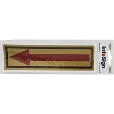 """Σήμα πληροφόρησης """"Arrow"""", αυτοκόλλητο από PVC"""
