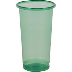 Ποτήρια πλαστικά PP πράσινα 250ml (50τεμ.)