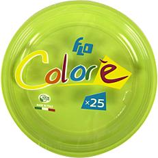 Πιάτα πλαστικά σε πράσινο χρώμα 22oz (25τεμ.)