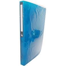 Κλασέρ HERLITZ Α4 PP με 4 κρίκους 16mm μπλε