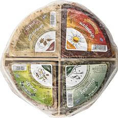 Τυρί ΡΟΥΜΕΛΗ 4 εποχές σε πλατό (720g)