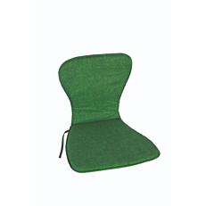 Μαξιλάρι πολυθρόνας πράσινο για καρέκλα μονομπλόκ (2τεμ.)
