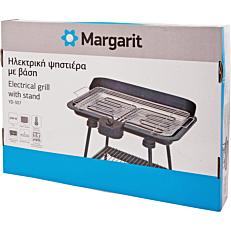 Ψηστιέρα MARGARIT ηλεκτρική με βάση 2200W