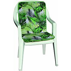 Μαξιλάρι πολυθρόνας jungle για καρέκλα 90x45x4cm (2τεμ.)