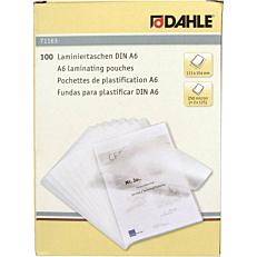 Φύλλα πλαστικοποίησης DAHLE A6,125 mic,100 φύλλα