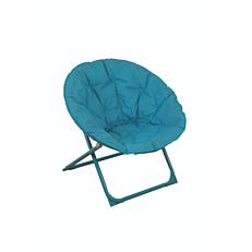 Πολυθρόνα μεταλλική relax πτυσσόμενη μπλε