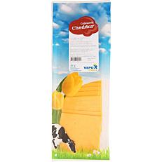 Τυρί VEPO cheddar 50% λιπαρά σε φέτες (500g)