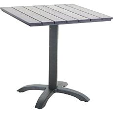 Τραπέζι RESORT LINE αλουμινίου non wood 70x70x71,5