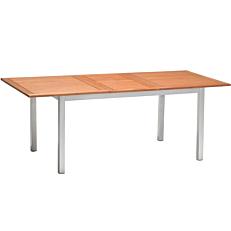 Τραπέζι RESORT LINE αλουμινίου επεκτεινόμενο fsc από ξύλο ευκάλυπτου 150/200x90