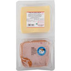 Γαλοπούλα καπνιστή και τυρί gouda ΤΥΠΟΠΟΙΗΤΙΚΗ σε φέτες (320g)