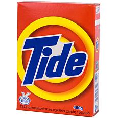 Απορρυπαντικό TIDE Alpine για πλύσιμο στο χέρι, σε σκόνη (450g)