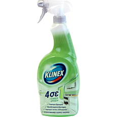 Καθαριστικό και απολυμαντικό KLINEX γενικής χρήσης 4σε1, σε σπρέι (750ml)