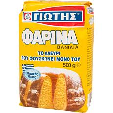 Αλεύρι ΓΙΩΤΗΣ φαρίνα βανίλια για κέικ (500g)