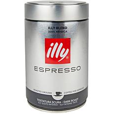 Καφές ILLY espresso scuro αλεσμένος (250g)