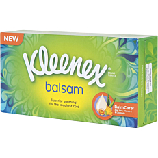 Χαρτομάντηλα KLEENEX balsam facial επιτραπέζια