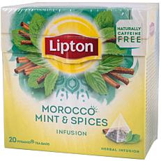 Αφέψημα LIPTON τσάι Μαρόκο (20x1,8g)