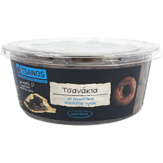 Κουλούρια TSANOS τσανάκια με σοκολάτα υγείας (300g)