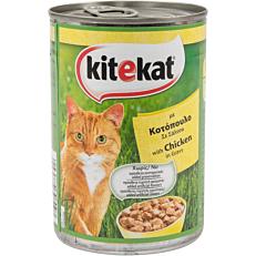 Τροφή KITEKAT γάτας με κοτόπουλο σε σάλτσα (400g)