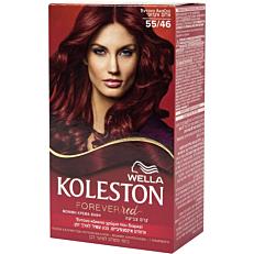 Βαφή μαλλιών WELLA Koleston έντονο ακαζού no.55/46 με κρέμα αναζωογόνησης χρώματος (50ml)