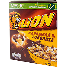 Δημητριακά NESTLE Lion (400g)