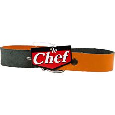 Περιλαίμιο LE CHEF σκύλου δερμάτινο