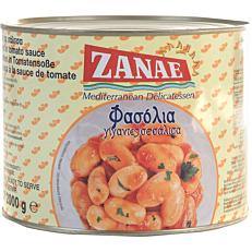 Κονσέρβα ΖΑΝΑΕ φασόλια γίγαντες (2kg)