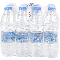 Νερό ΣΕΛΗΝΑΡΙ φυσικό επιτραπέζιο (12x500ml)