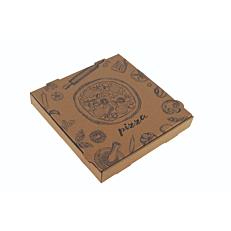 Κουτιά πίτσας microwelle κραφτ 32x4,2cm (50τεμ.)