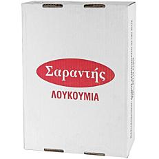 Λουκούμι ΣΑΡΑΝΤΗΣ ανάμεικτες μπουκιές (5kg)