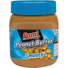 Φυστικοβούτυρο PAMI smooth (340g)