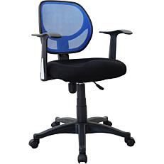 Καρέκλα STAMPA γραφείου mesh μπλε